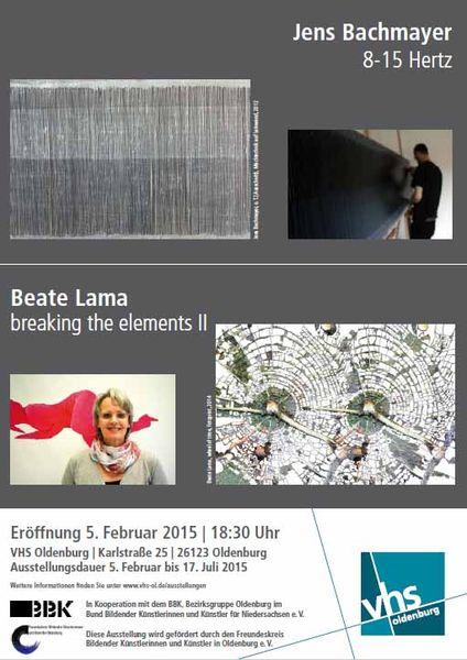 VHS Ausstellung Jems Bachmeyer – Beate Lama
