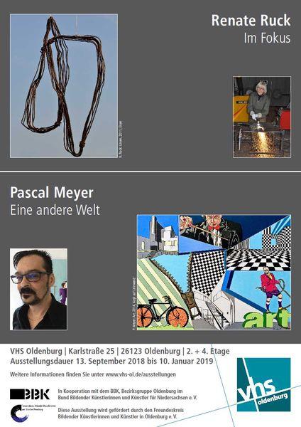 VHS Ausstellung Renate Ruck – Pascal Meyer