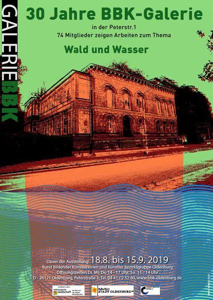 Ausstellung 30 Jahre BBK-Galerie -Wald und Wasser-