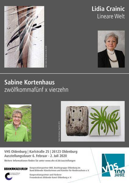 VHS Ausstellung Lidia Crainic – Sabine Kortenhaus
